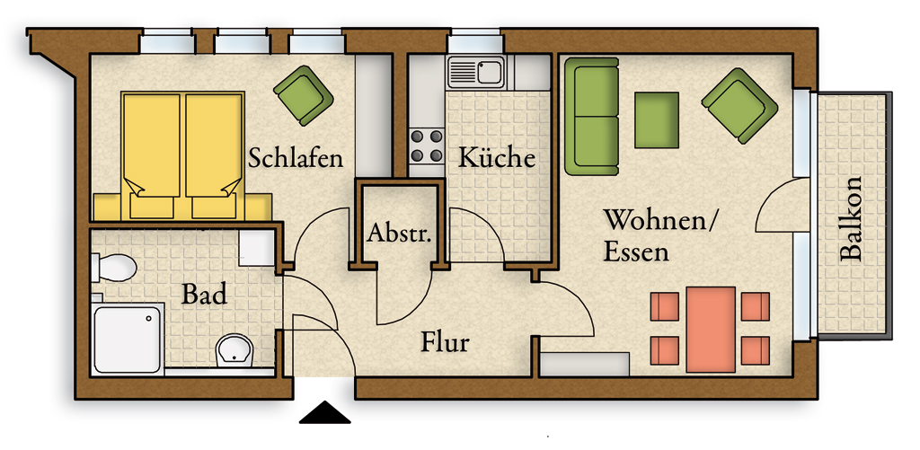 villa luise wohnen mit weitblick in bester lage. Black Bedroom Furniture Sets. Home Design Ideas